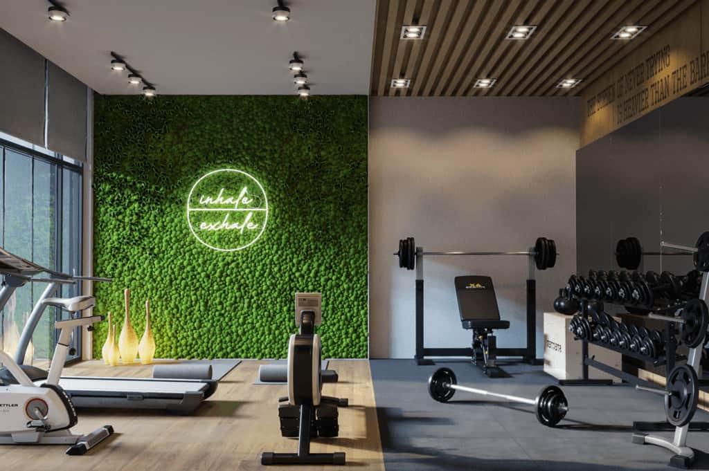 home gym interior design