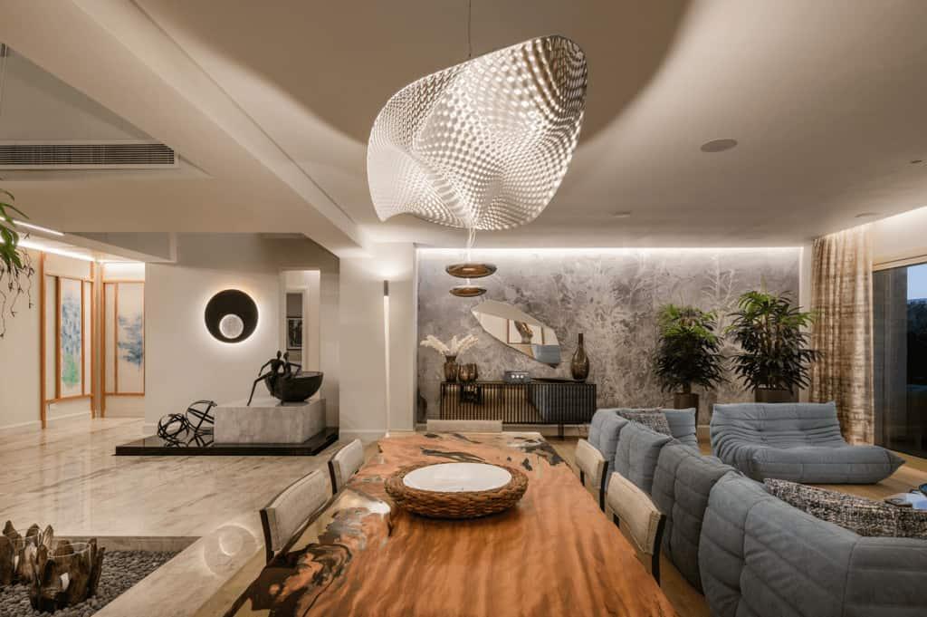 Luxury Contemporary Villa Interior Design by Color N Interior team.